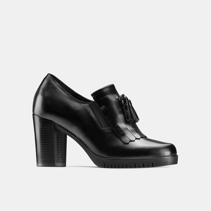 Women's shoes bata, Noir, 714-6104 - 13