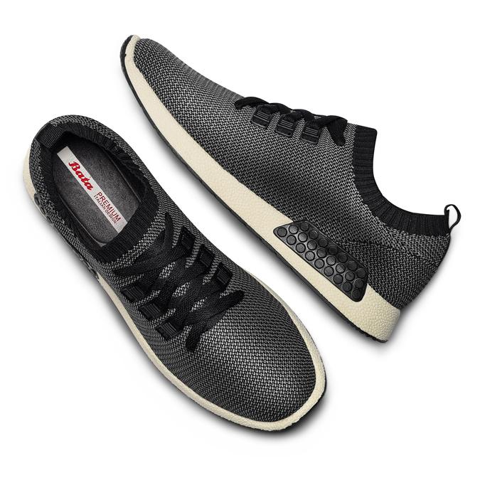 Men's shoes bata, Noir, 839-6147 - 26