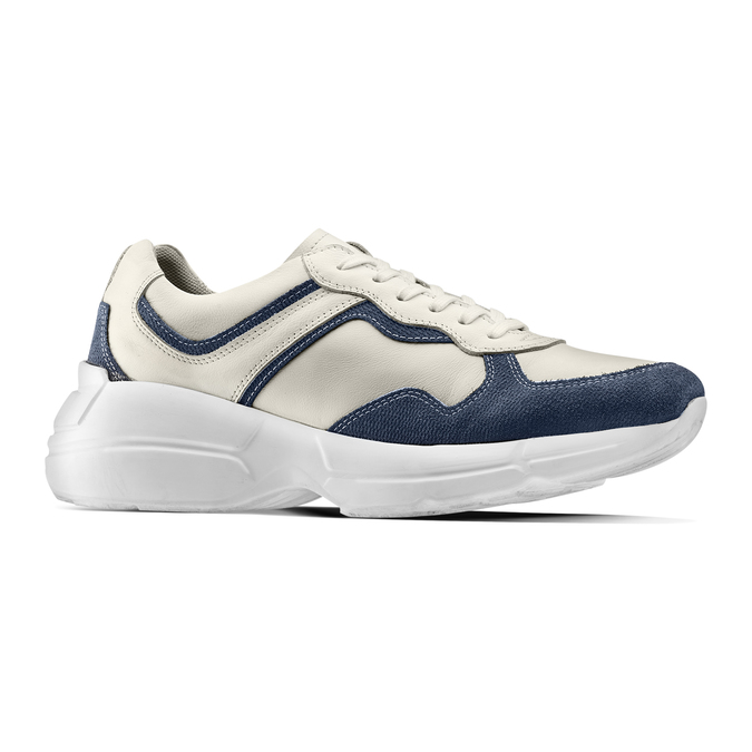Men's shoes bata, Bleu, 824-9362 - 13