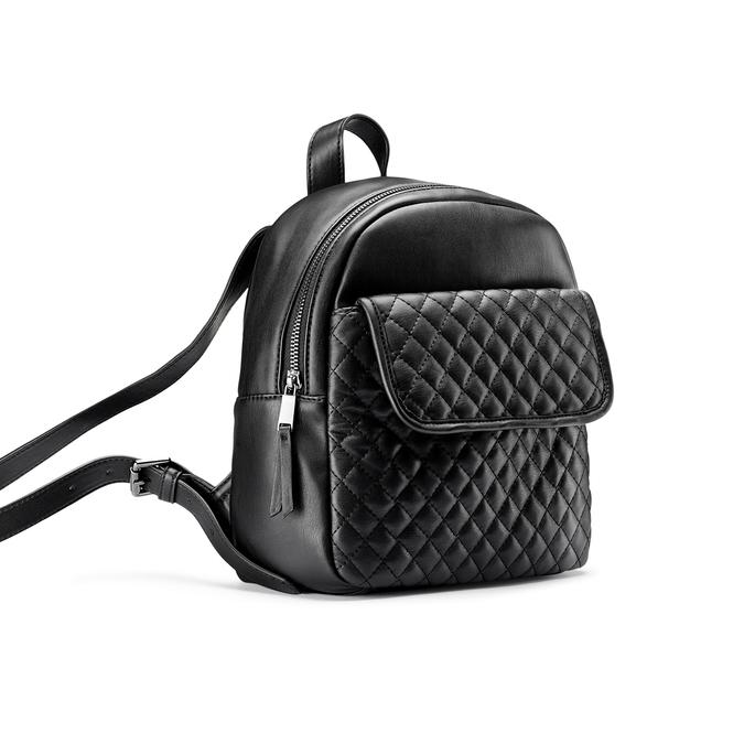 Backpack bata, Noir, 961-6458 - 13
