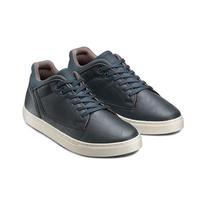 Men's Shoes bata, Bleu, 841-9496 - 16