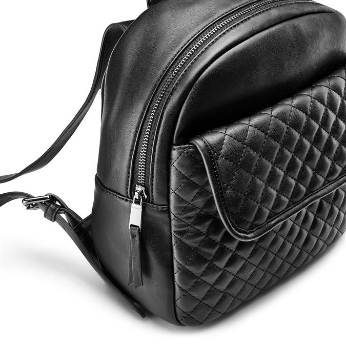 Backpack bata, Noir, 961-6458 - 15