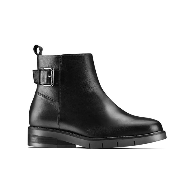 Women's shoes flexible, Noir, 594-6158 - 13