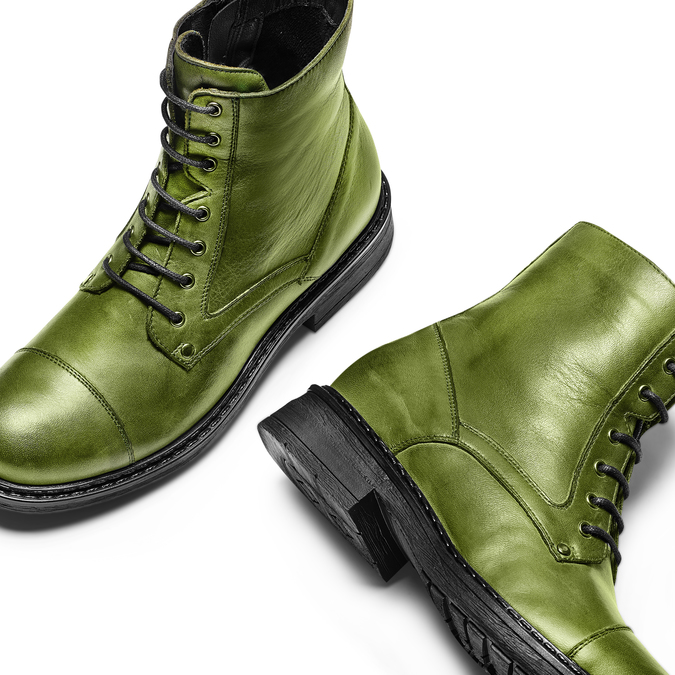 Women's shoes bata, Vert, 594-7963 - 26