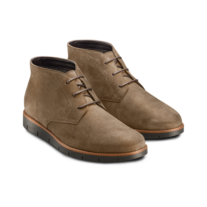 Men's shoes flexible, Brun, 893-4232 - 16