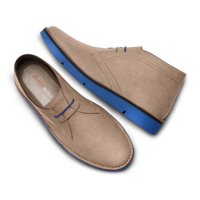 Men's shoes bata-b-flex, Jaune, 849-8578 - 26