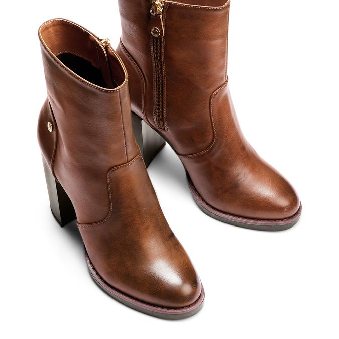Women's shoes insolia, Jaune, 791-8258 - 17