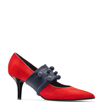 Women's shoes bata-b-flex, Rouge, 729-5184 - 13
