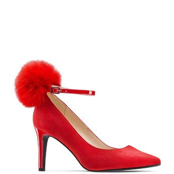 BATA Chaussures Femme bata, Rouge, 729-5311 - 13