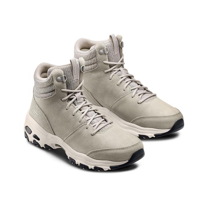 Chaussures Femme skechers, Beige, 503-2860 - 16