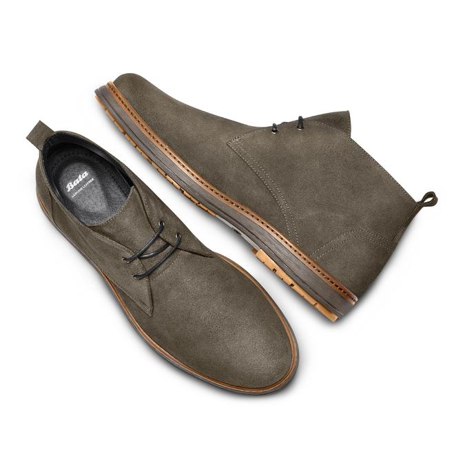 Men's shoes bata, multi couleur, 823-0535 - 26