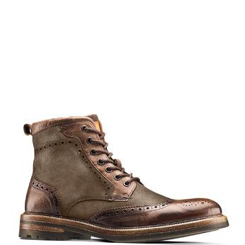 Men's shoes bata, Brun, 893-4294 - 13