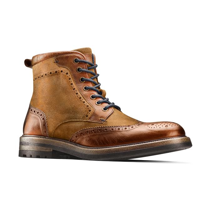 Men's shoes bata, Brun, 893-3294 - 13