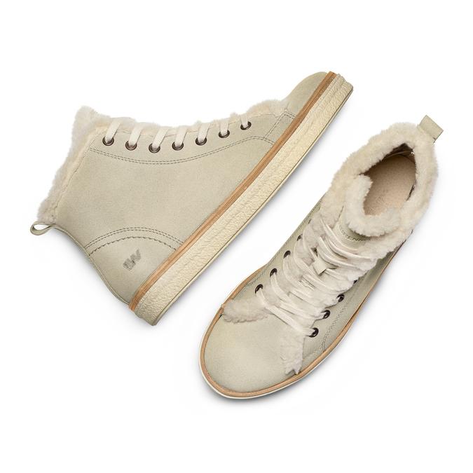 Women's shoes weinbrenner, Blanc, 594-1971 - 26