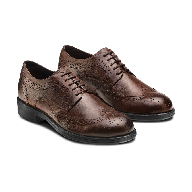 Men's shoes bata, Brun, 824-4568 - 16