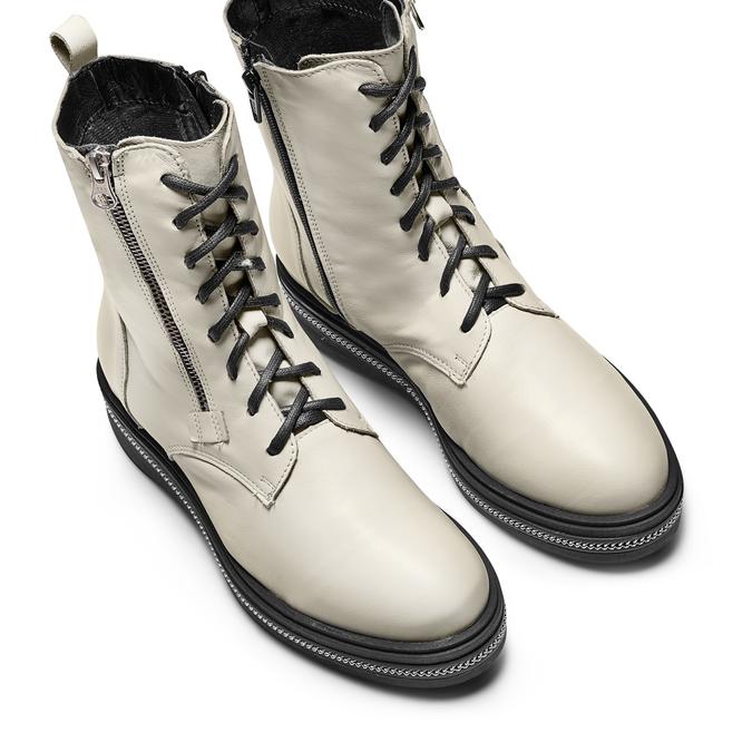 BATA Chaussures Femme bata, Blanc, 594-1717 - 17