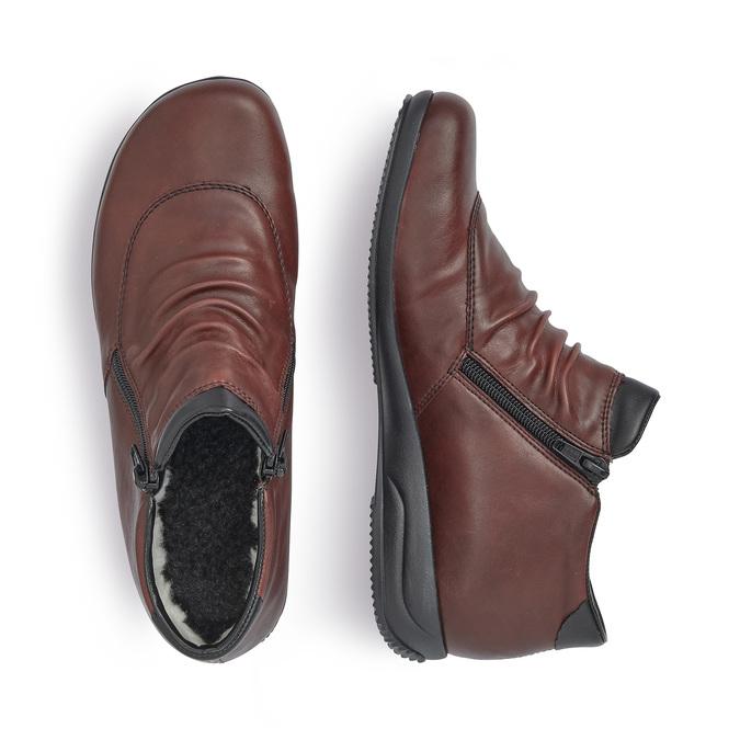 RIEKER Chaussures Femme rieker, Rouge, 591-5270 - 16
