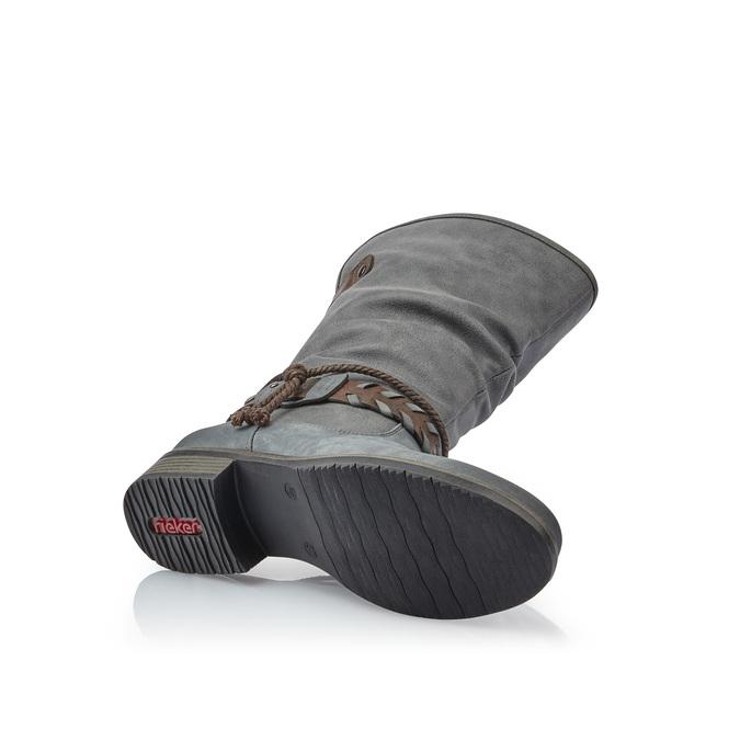 RIEKER Chaussures Femme rieker, Gris, 591-2383 - 17