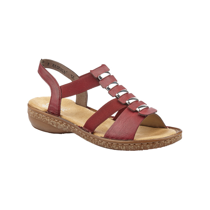 RIEKER Chaussures Femme rieker, Rouge, 661-5194 - 13