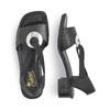 RIEKER Chaussures Femme rieker, Noir, 664-6339 - 16