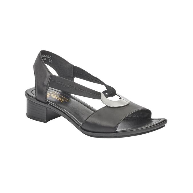 RIEKER Chaussures Femme rieker, Noir, 664-6339 - 13
