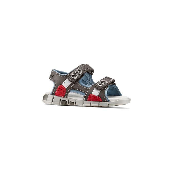 Childrens shoes mini-b, Gris, 263-2205 - 13