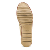 Men's shoes bata, Jaune, 859-8204 - 19