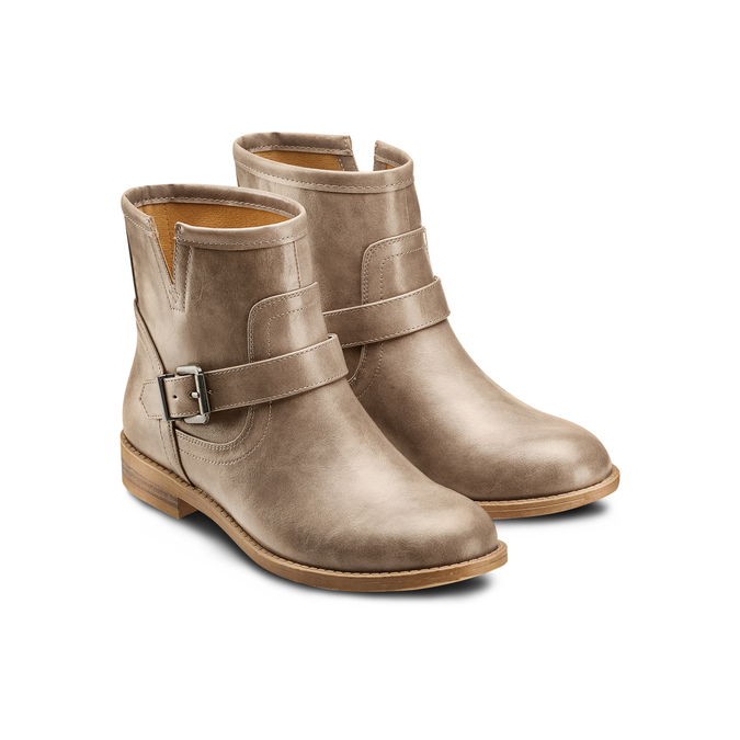 BATA Chaussures Femme bata, Beige, 591-2369 - 16