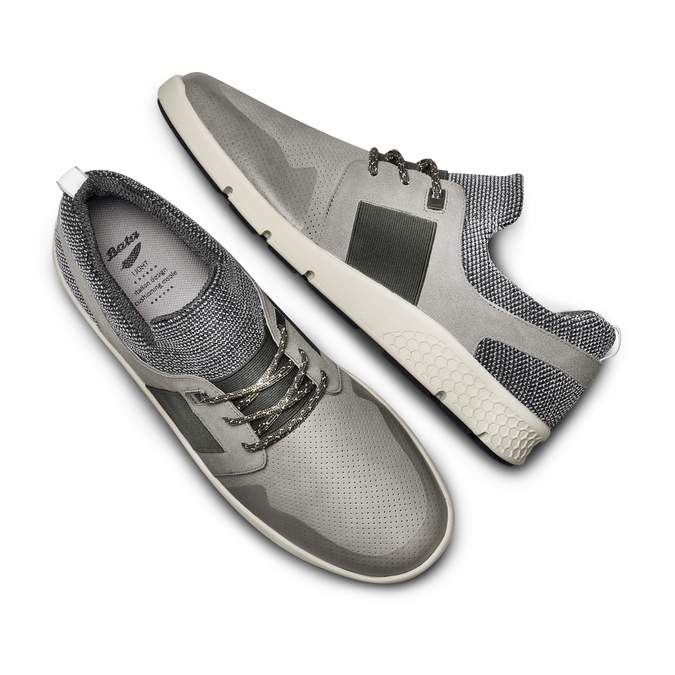 BATA LIGHT Chaussures Homme bata-light, Gris, 843-2347 - 26