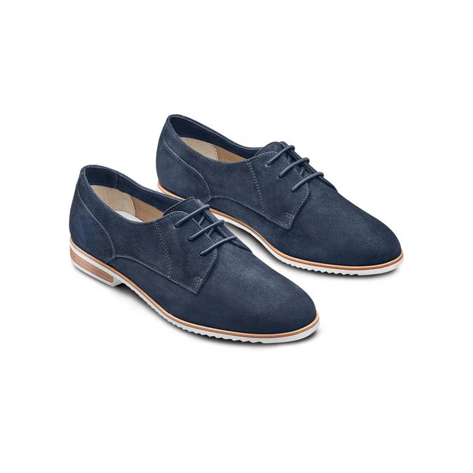 BATA Chaussures Femme bata, Bleu, 523-9360 - 16