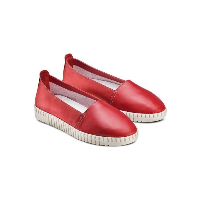 BATA Chaussures Femme bata-touch-me, Rouge, 514-5241 - 16