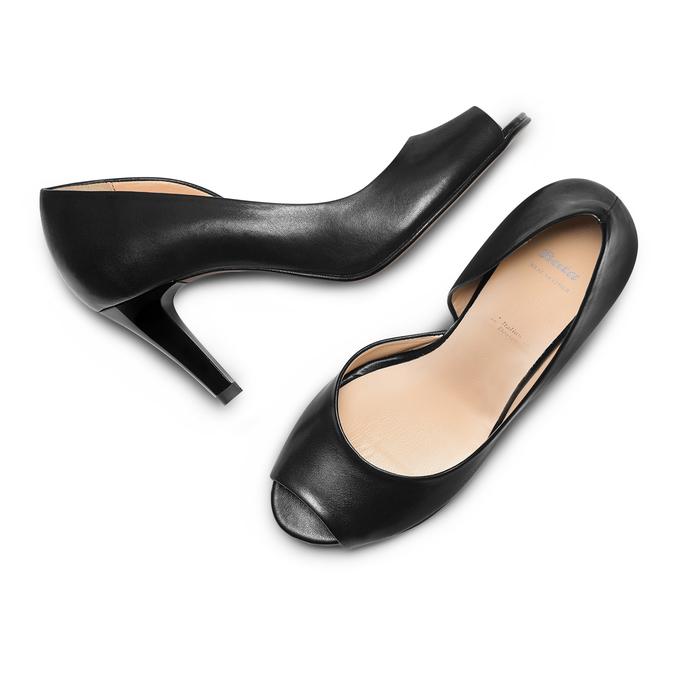 BATA Chaussures Femme bata, Noir, 724-6370 - 26
