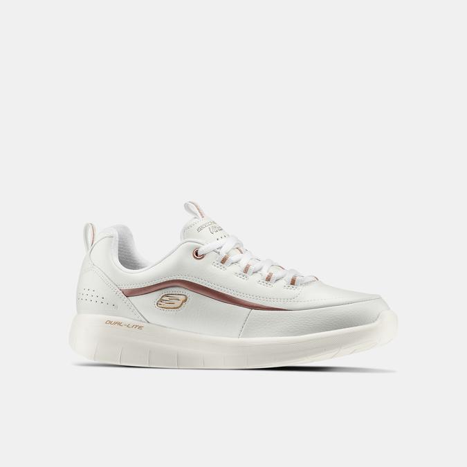 Chaussures Femme skechers, Blanc, 501-1417 - 13