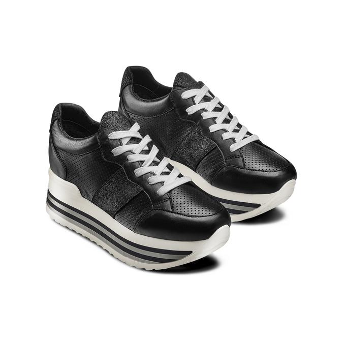 BATA Chaussures Femme bata, Noir, 644-6111 - 16