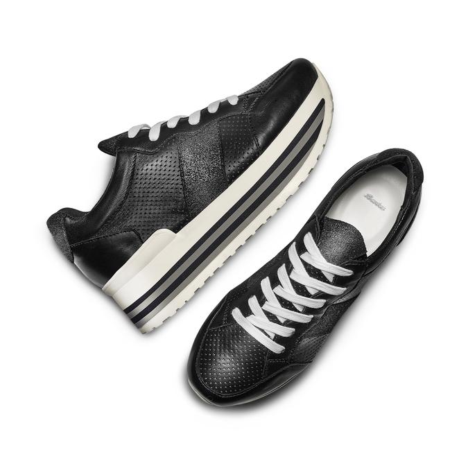 BATA Chaussures Femme bata, Noir, 644-6111 - 26