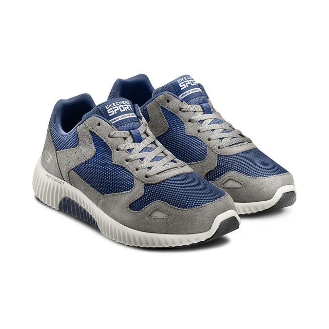 SKECHERS  Chaussures Homme skechers, Gris, 803-2136 - 16