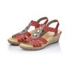 RIEKER Chaussures Femme rieker, Rouge, 661-5331 - 26