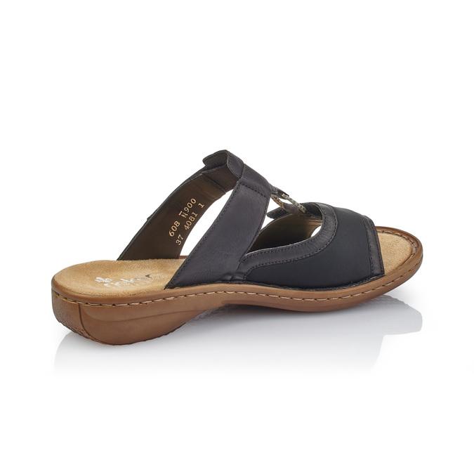 RIEKER Chaussures Femme rieker, Noir, 661-6195 - 15