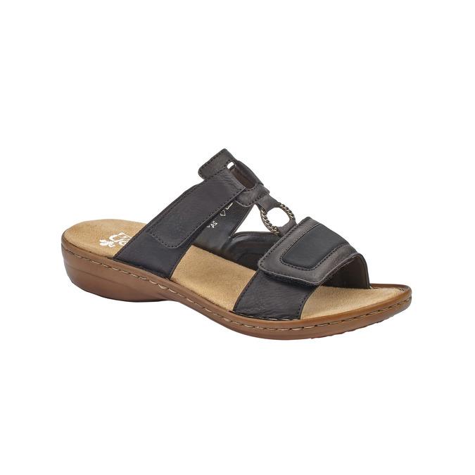 RIEKER Chaussures Femme rieker, Noir, 661-6195 - 13