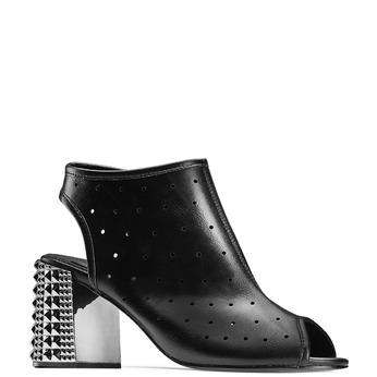 BATA Chaussures Femme bata, Noir, 761-6301 - 13