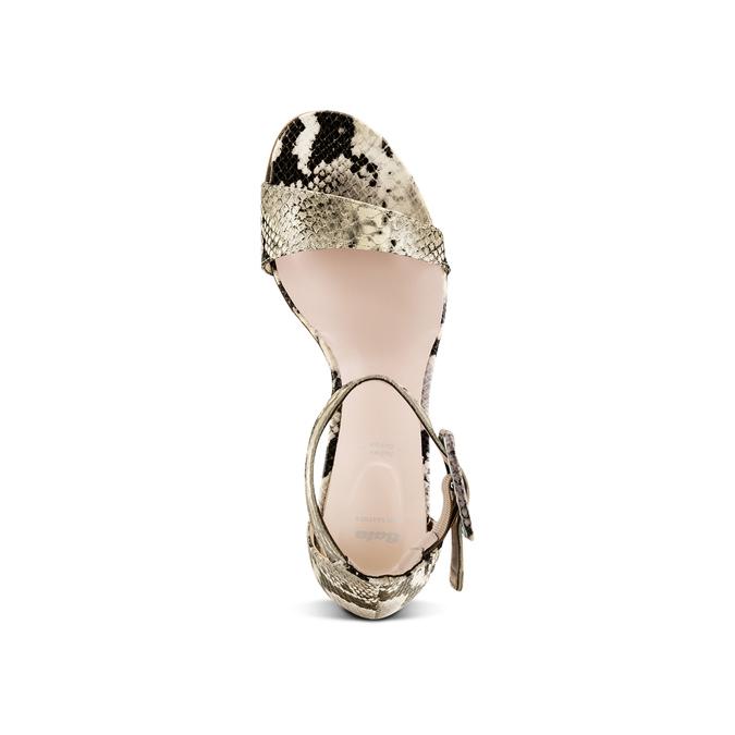 BATA Chaussures Femme bata, Beige, 665-0376 - 17