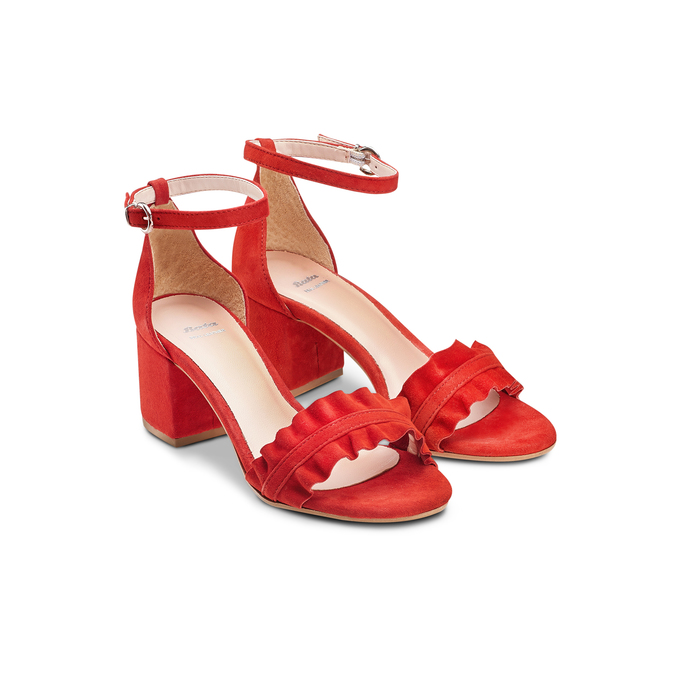 BATA Chaussures Femme bata, Rouge, 663-5377 - 16