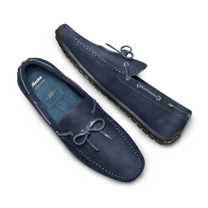 BATA Chaussures Homme bata, Bleu, 853-9146 - 26