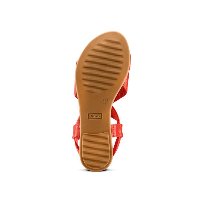 BATA Chaussures Femme bata, Rouge, 564-5443 - 19