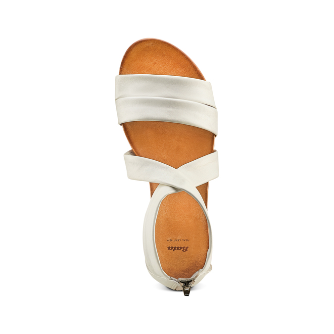 BATA Chaussures Femme bata, Blanc, 564-1327 - 17