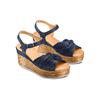 BATA Chaussures Femme bata, Bleu, 763-9591 - 16