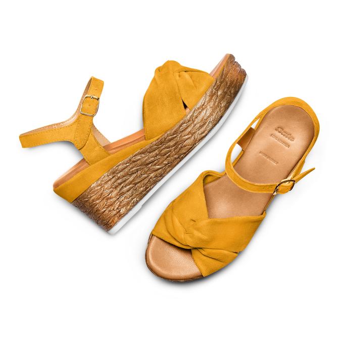 BATA Chaussures Femme bata, Jaune, 763-0591 - 26