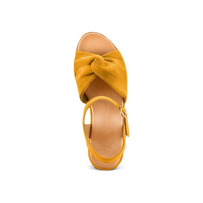 BATA Chaussures Femme bata, Jaune, 763-0591 - 17