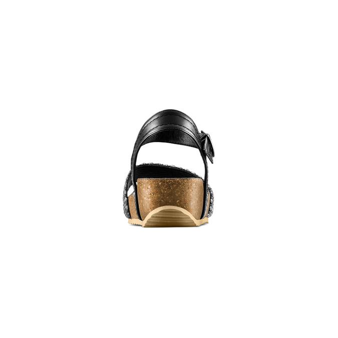 BATA Chaussures Femme bata, Noir, 669-6373 - 15