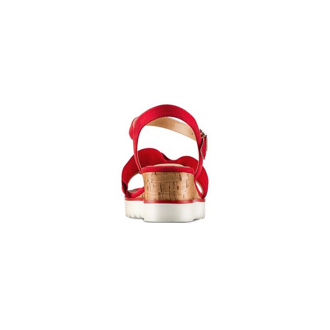 BATA Chaussures Femme bata, Rouge, 669-5382 - 15